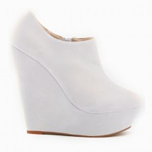 Ankle Boot - Anabela Branca