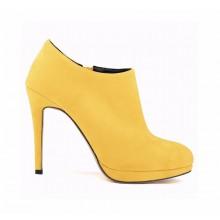 Ankle Boot - Camurça Amarela