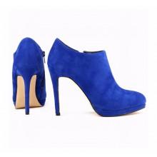 Ankle Boot - Camurça Azul