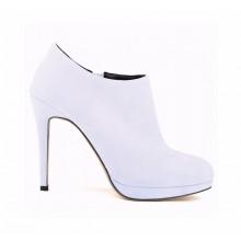 Ankle Boot - Camurça Branca