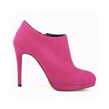 Ankle Boot - Camurça Pink