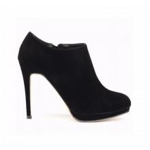 Ankle Boot - Camurça Preta