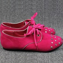 Oxford - Pink com Tachinhas