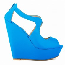 Peep Toe - Anabela Azul