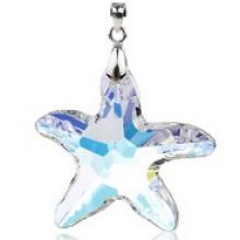 Pingente de Estrela em Cristal