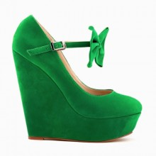 Scarpin - Anabela Verde