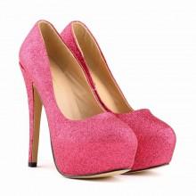 Scarpin - Brilhante Pink