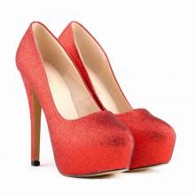 Scarpin - Brilhante Vermelho