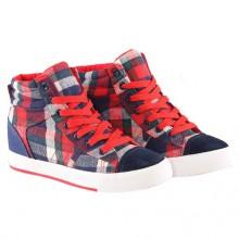 Sneakers - Xadrez Vermelho