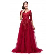 Vestido de Festa Bordado - V00015