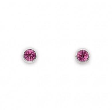 Brincos Micro Pontos de Luz Pink