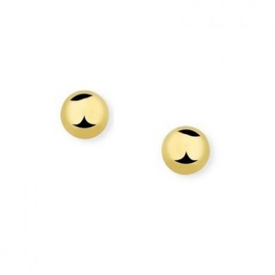 Brincos de Bolas Pequenas Douradas