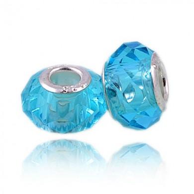 Charm Acrílico Azul Claro