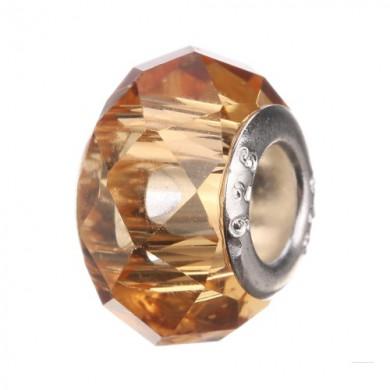 Charm Acrílico Bronze