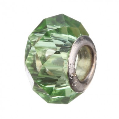 Charm Acrílico Verde Claro