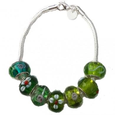 Charm de Murano Verde