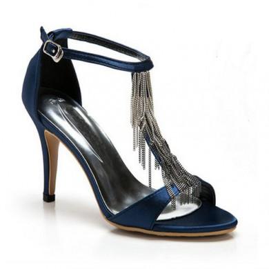 Sandália - Azul com Correntes