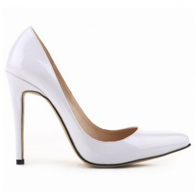 Scarpin - Verniz Branco