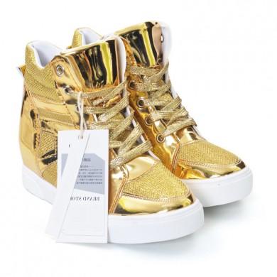Sneakers - Dourado