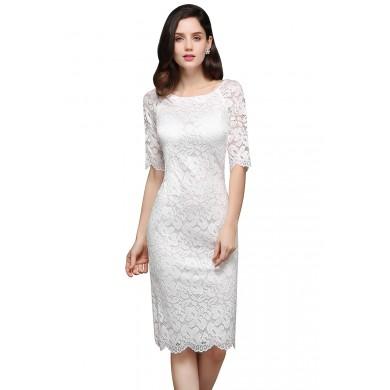 Vestido de Noiva Midi - VN00005