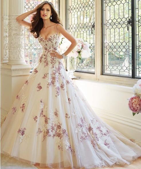 Vestido de Debutante Bordado - V00044 - VESTIDOS DE ...