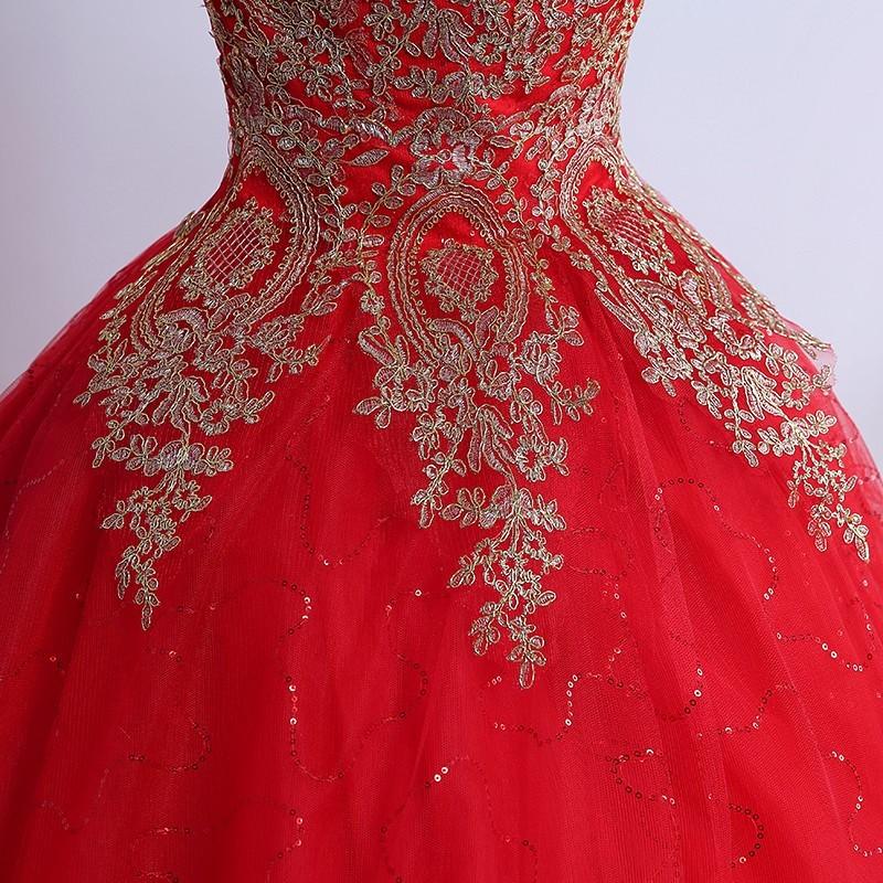 Vestido de Debutante Vermelho - V00002 - VESTIDOS DE ...