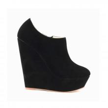 Ankle Boot - Anabela Preta