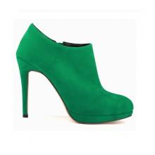 Ankle Boot - Camurça Verde