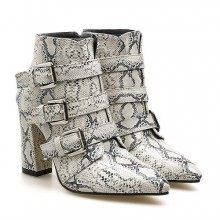 Ankle Boot - Pele de Cobra