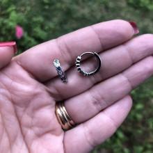 Mini Argolas Coloridas - 1,4cm