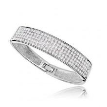 Bracelete Cravejado de Swarovski