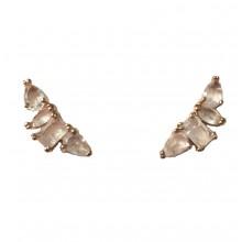 Brincos Ear Cuff Dourados