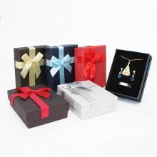 Caixa de Presente - Cinza com Laço