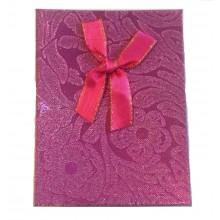 Caixa de Presente - Pink com Laço