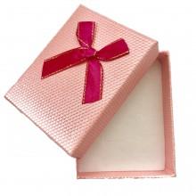 Caixa de Presente - Rosa com Laço