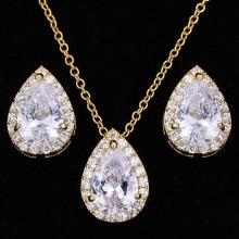 Conjunto de Gotas Douradas