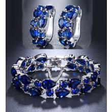 Conjunto Luxo Azul