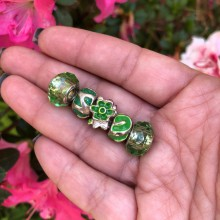 Kit de Charms Verdes
