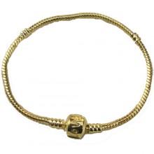 Pulseira Estilo Pandora Dourada