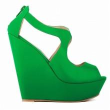 Peep Toe - Anabela Verde