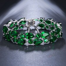 Pulseira Luxo Verde
