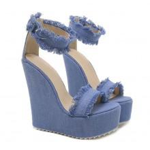 Sandália - Anabela Jeans