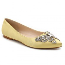 Sapatilha - Amarela com Borboleta