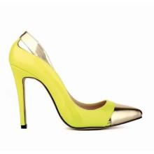 Scarpin - Amarelo e Dourado
