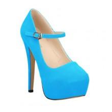 Scarpin - Boneca Azul Claro