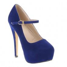 Scarpin - Boneca Azul