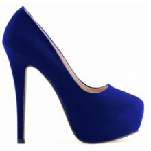 Scarpin - Camurça Azul