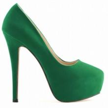 Scarpin - Camurça Verde