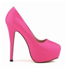 Scarpin - Pink com Meia Pata