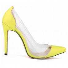 Scarpin - Transparente Amarelo